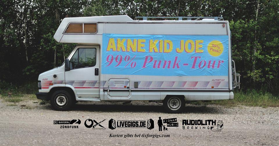 Akne Kid Joe 99% Punk Tour Poster
